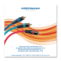 Component Video kabel Hirschmann High-End PPC 1.8meter AKTIE!