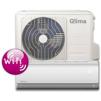 Qlima airco SC-3731(100m³) Split unit airco met snelkoppelingen en WiFi module. SC3731